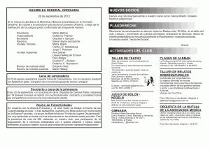 Circular Octubre Noviembre Club Aleman