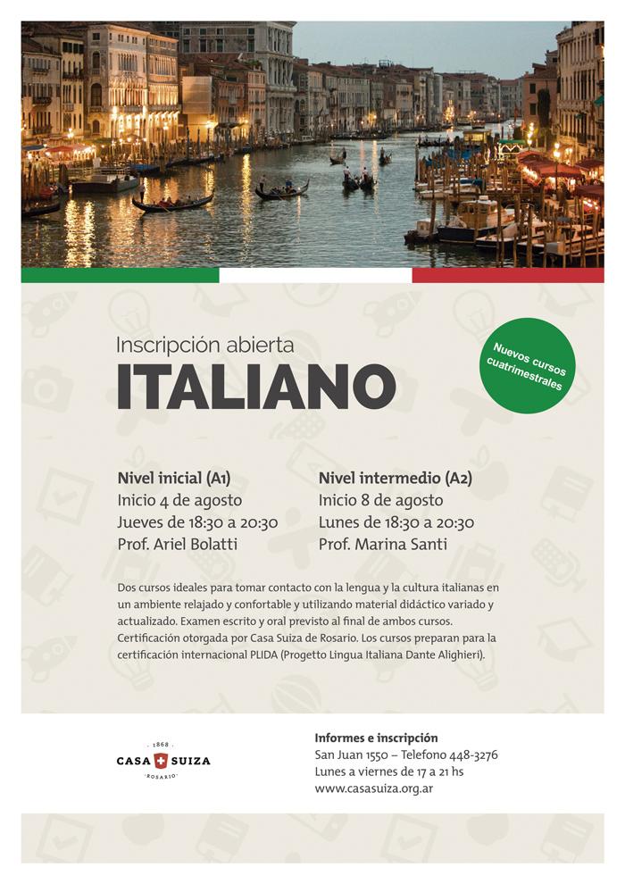 Idiomas-Italiano-2-niveles---Afiche