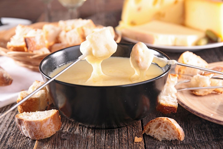 Deliciosa fondue de queso
